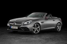 Nuova Mercedes-Benz SLC Roadster, Configuratore e listino prezzi DriveK Mercedes Benz Slk, New Mercedes, Audi, Bmw, Cadillac, Volvo, Convertible, Volkswagen, Detroit Motors