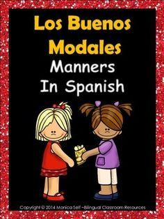 Remind your students to use their good manners by displaying these cute posters in Spanish.The posters included are in white and black background versions:1. Pido las cosas por favor y doy las gracias.2. Soy amable con mis amigos y animales.3. No distraigo ni molesto a los dems con mis manos.4.