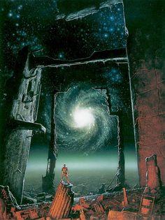 """Foundation's Edge"" - Michael Whelan"