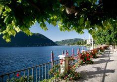 Lakeside promenade