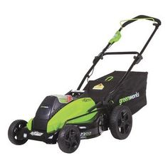 Greenworks Digi-Pro Gmax 19 in. Brushless Cordless Battery Walk Behind Push Lawn Mower - Battery/Charger Not Included Lawn Mower Battery, Cordless Lawn Mower, Push Lawn Mower, Walk Behind Lawn Mower, Metal Deck, Mowers For Sale, Portable Air Compressor, Riding Lawn Mowers, Outdoor Power Equipment
