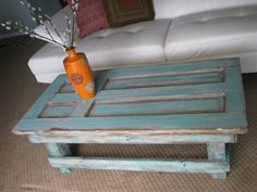 Free Shippingdoor Coffee Table By Rusticexquisitedsgn On Etsy 479 00