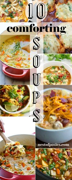 10 of the most Warm and Comforting Soups you've ever tried!