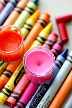 How to Make Lip Gloss out of Crayons by MomDot