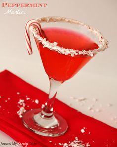 Peppermint Martini Recipe | Yummly