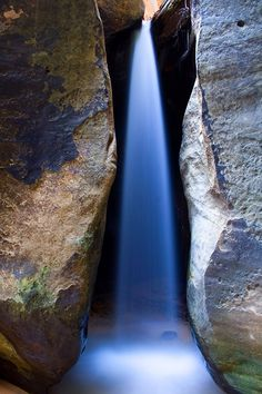 Water Cuts Rock by Jeff Sullivan Photography