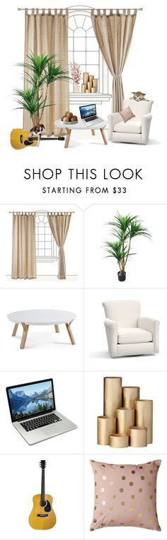 """""""Untitled #395"""" by ljabii ❤ liked on Polyvore featuring interior, interiors, interior design, home, home decor, interior decorating, Pottery Barn, ferm LIVING and Bloomingville"""