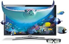 Samsung 3D TV ~ AMAZING color and picture quality!! No other TV compares.