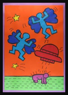 Keith Haring insired