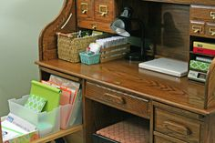 My Mom had a desk like this for her former Avon business in which she was very successful