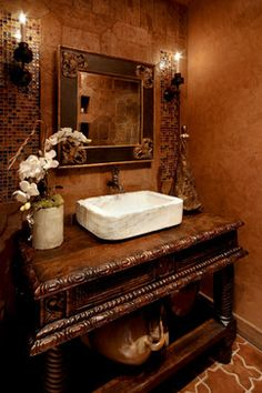 Powder Room Design Ideas, Pictures, Remodel and Decor