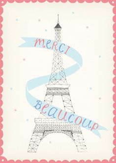 Merci Beaucoup by Amy Borrell