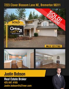 #SOLD  Congratulations Justin Bobson and to the new owners of Well maintained 2-story home; located on a private 1 acre lot comes fully fenced & backed by green belt. Home offers 3 bedrooms and 2.5 baths with bonus room.   MLS # 1217762