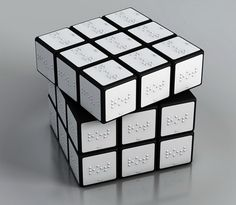 Simply Cool Products - Braille Rubix Cube