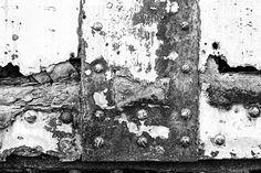 Rusty Railcar Rivets (Detail) (A0015321)