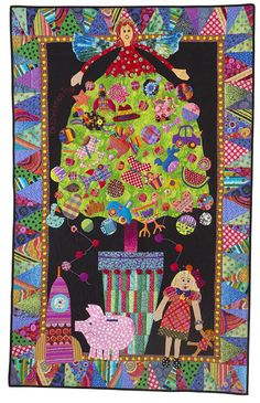 Christmas All Over the World Quilts by Mary Lou Weidman.  2016 Workshop, Empty Spools Seminars