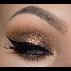 Beautiful look @makeupbytaren wearing shadows from the summer collection and #ArtistPalette #anastasiabrows #anastasiabeverlyhills