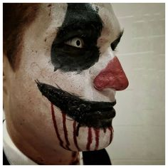 #makeup #makeupartist #sfx #sfxmakeup #sfxmakeupartist #storyteller #artist #creativity #creativemakeup #art #inspiration #inspo #makeupideas #artoftheday #create #contentcreator #makeupoftheday #specialeffects #clown #scaryclown #horror #halloween #halloweenmakeup Scary Clown Makeup, Scary Clowns, Halloween Face Makeup, Character Makeup, Sfx Makeup, Special Effects, Halloween Make Up, Art Day, Storytelling