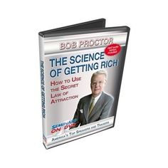 Bob Proctor Seminars On DVD Secret Law of Attraction to Accumulate Wealth SGR