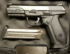 Ruger American Pistol 9mm.  Fresh from the gun shop.Loading that magazine is a pain! Get your Magazine speedloader today! http://www.amazon.com/shops/raeind