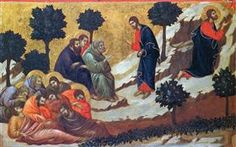 Agony in the Garden - Duccio