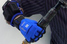 Robot Grip    Robotic exoskeleton suits are a long-desired object from science fiction, but such suits are expensive and complicated. Luckily, NASA and GM got together to refine a similar technology for just one human arm. The Robo-Grip attaches to a worker's arm and uses a combination of internal sensors and motors to apply grip and force beyond a typical human level. This invention will make work quicker, easier, and it should also reduce repetitive stress injuries.