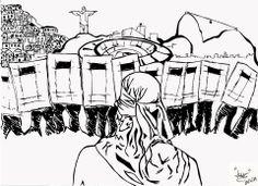 VAMOS PRA RUA  Apoio: Movimento de Decoração Anti-Copa  Arte: Luis Felipe Capellao
