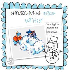 Kringactiviteit voelen: wat ligt er onder de sneeuw? | Thema WINTER