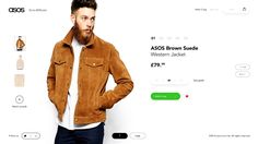 After you select an area you will be given 5 recommendations which will be based off your recent purchases and your activity on the asos website. You can navigate to the other areas as well from th...