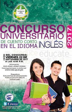 Vicerrectoria de Asuntos Estudiantiles (VAE): Concurso Universitario de Cuento Corto en el Idiom...