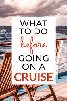 What to do Before Going on a Cruise Booked a cruise vacation and not sure how to prepare or what to do next? In this post, you'll find what to do before going on a cruise. Bahamas Cruise, Cruise Port, Cruise Travel, Cruise Vacation, Vacation Trips, Vacation Travel, Disney Cruise, Shopping Travel, Texas Travel