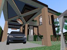 Planner 5D - for inner city living, one bedroom townhouse.