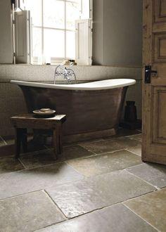 Fritstående badekar Babylon | Fired Earth Fired Earth, Clawfoot Bathtub, Bathroom, Washroom, Terracotta, Bathrooms, Bath