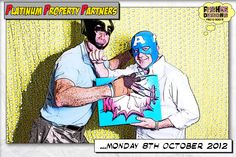 Copyright belongs to Fishee Designs Photo Booth Ltd. Comic Book Photo Booth