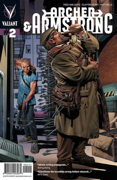Archer & Armstrong # 2 regular cover by Arturo Lozzi $4