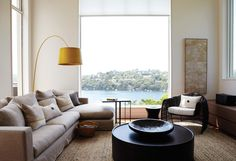 The interior of this home with stunning views of Middle Harbour needed updating and a new approach to fulfil the new owner's brief. Having lived in Asia for some years, the clients wanted to reflect their collection of Asian furniture in a contemporary context. We re-defined spaces, in line with the brief, complementing the volume …