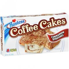 Hostess Coffee Cakes Cinnamon Streusel 11.6 OZ (329g)