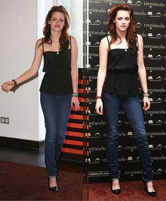 Kristen Stewart aparece linda e elegante em duas novas fotos velhas tiradas durante a divulgação de Crepúsculo em Madri em 2008. Para matar as saudades dessa fase da diva, aprecie as imagens abaixo: