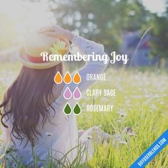 Remembering Joy - Essential Oil Diffuser Blend