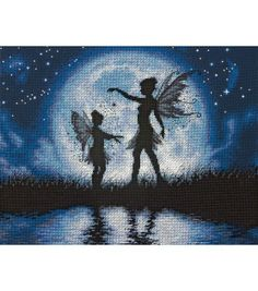 Twilight Silhouette Cross Stitch
