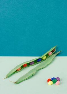 Sweet veggies series: Jelly Peas