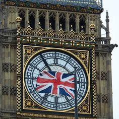 Big Ben - ganz schön stürmisch.