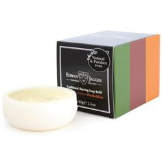 Edwin Jagger three traditional shaving soap refills mix pack with one of each Aloe Vera, Sandalwood and Sea Buckthorn shaving soap. Manufactured by Edwin Jagger/England. Edwin Jagger, Shaving & Grooming, Shaving Soap, Normal Skin, Pomegranate, Aloe Vera, Sensitive Skin, Fragrance, Delicate