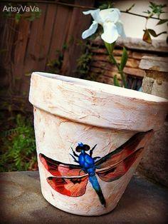 Artsy VaVa: Need A Tissue...flower pot?