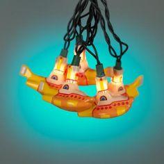 Beatles Yellow Submarine 10-Light Party String Lights