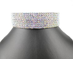 JANEFASHIONS 8-ROW AB WHITE AUSTRIAN CRYSTAL RHINESTONE CHOKER NECKLACE PARTY WEDDING N077AB (8 Row AB White) *** You can find more details by visiting the image link. We are a participant in the Amazon Services LLC Associates Program, an affiliate advertising program designed to provide a means for us to earn fees by linking to Amazon.com and affiliated sites. Rhinestone Choker, Crystal Rhinestone, Jewelry Boards, Latest Jewellery, Austrian Crystal, Modern Jewelry, Costume Jewelry, Jewelry Collection, The Row