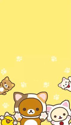Rilakkuma cat wallpaper