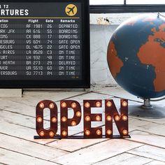 オープンサイン OPEN sign - リグナセレクションのライト・照明通販 | リグナ