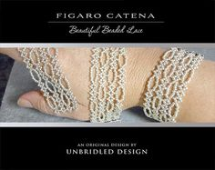 Figaro Catena Beaded Lace PDF Tutorial by UnbridledDesign on Etsy