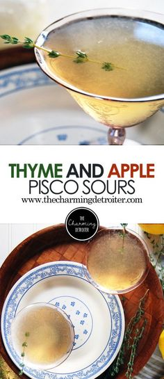 Thyme and Apple Pisc